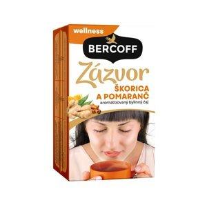 BERCOFF KLEMBER Zázvor skořice pomeranč čaj 36 g