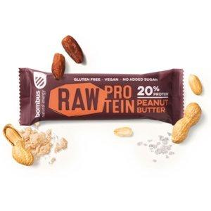 BOMBUS Raw proteinová tyčinka arašídová 50 g
