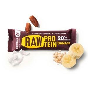 BOMBUS Raw proteinová tyčinka banánová 50 g