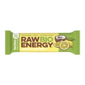 BOMBUS Raw citron a kokos BIO 50 g