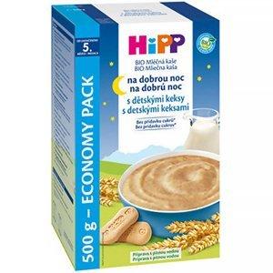 HIPP Kaše na dobrou noc BIO s dětskými keksy 450 g