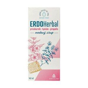 ERDOHERBAL medový sirup 140 ml