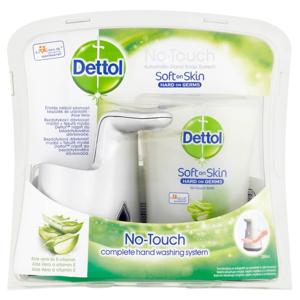 DETTOL Bezdotykový dávkovač mýdla Aloe Vera a vitamín E (250 ml), poškozený obal