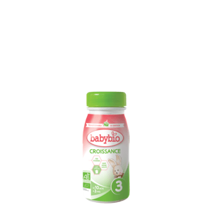 BABYBIO Croissance 3 Tekuté pokračovací kojenecké mléko od 10 měsíce do 3 let BIO 250 ml