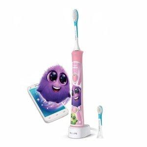 PHILIPS SONICARE for Kids HX6352/42 růžový sonický elektrický zubní kartáček pro děti