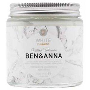 BEN&ANNA Zubní pasta bílá s fluoridem 100 ml