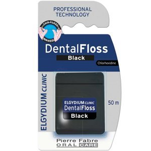 ELGYDIUM Clinic Dentální nit černá 50 ml