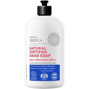 NATURA SIBERICA Mýdlo na ruce s antibakteriálním účinkem 500 ml