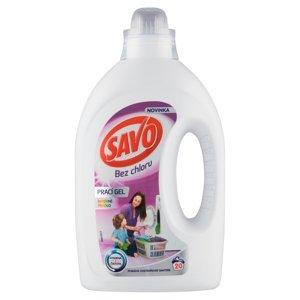 SAVO Bez chloru Color Prací gel 20 pracích dávek