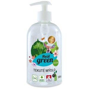 REAL GREEN CLEAN Tekuté mýdlo s pumpou 500 g