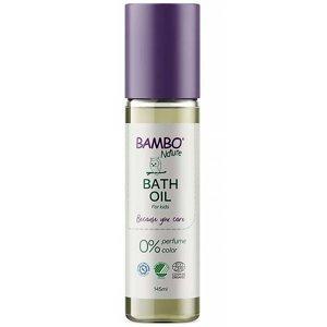BAMBO Nature Tělový olej po koupeli neparfemovaný 145 ml