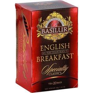 BASILUR Specialty English Breakfast černý čaj 20 sáčků