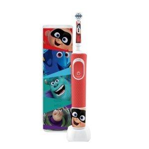 ORAL-B Vitality D100 Kids Pixar dětský zubní kartáček + cestovní pouzdro