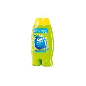 AVON Naturals kids Jemný sprchový gel a pěna do koupele 2v1 S borůvkou 250 ml