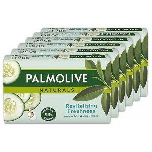 PALMOLIVE Naturals Green Tea & Cucumber Mýdlo 6x 90 g