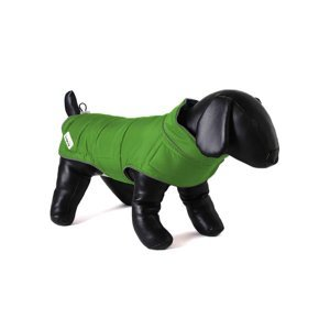 Doodlebone oboustranná zimní bunda, zelená/oranžová, velikost XS