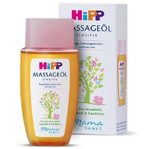 HIPP MAMASANFT Masážní olej na strie 100 ml
