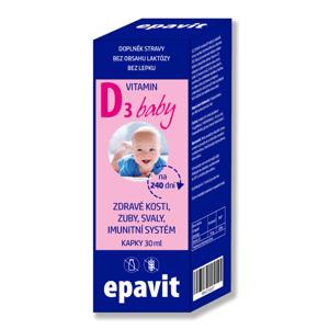 EPAVIT Vitamín D3 baby kapky 30 ml