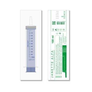 JANETTE ALFA Lavážní sterilní stříkačka 100 ml 1 kus