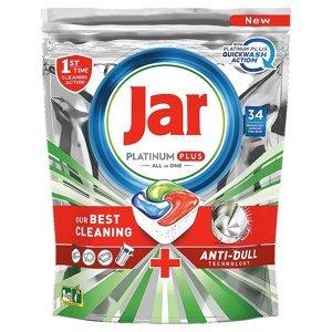 JAR Tablety do myčky Platinum Plus All in 1 QuickWash 34 ks