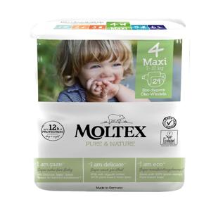 MOLTEX Pure & Nature Maxi 7-18 kg  29 ks, poškozený obal