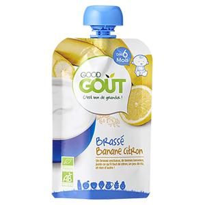GOOD GOUT Banánový jogurt s citrónem BIO 90 g