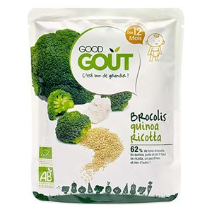 GOOD GOUT Quinoa s brokolicí a ricottou BIO 220 g