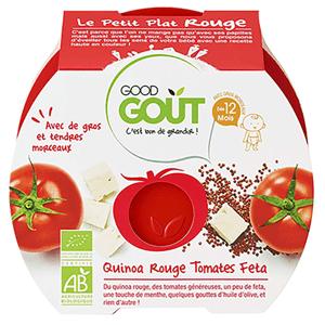 GOOD GOUT Rajčátka s červenou quinou a sýrem Feta BIO 220 g