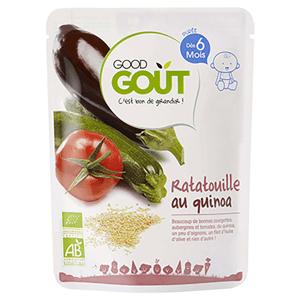 GOOD GOUT Ratatouille s quinou BIO 190 g