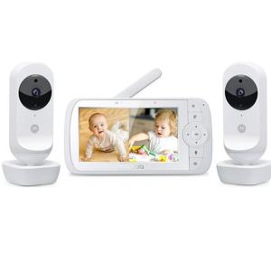MOTOROLA EASE 35 - 2 dětská chůvička se dvěma kamerami, rozbalené