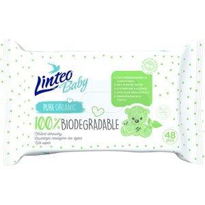 LINTEO Baby Vlhčené ubrousky Biodegradable 48 ks