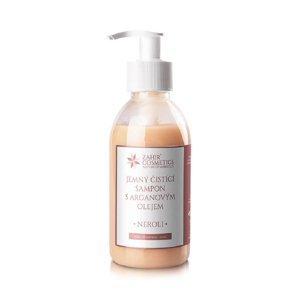 ZAHIR COSMETICS Jemný čistící šampon s arganovým olejem - NEROLI 200 ml