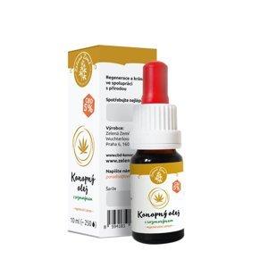 ZELENÁ ZEMĚ CBD Olej 5% - regenerační sérum 10 ml