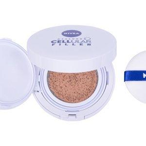 NIVEA Hyaluron CELLular Filler SPF15 makeup 3in1 Care Cushion 15g 01 Light