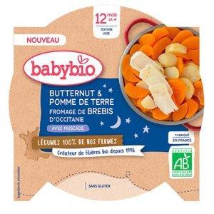 BABYBIO  brambory máslová dýně ovčí sýr 230 g