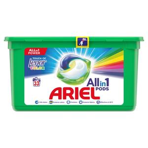 ARIEL Allin1 kapsle Touch of Lenor Fresh 33 PD, poškozený obal