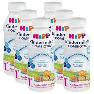 HiPP Junior Combiotik 1+ Tekuté pokračovací mléko 6x 470 ml