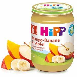 HiPP Jablka s mangem a banány BIO 190 g