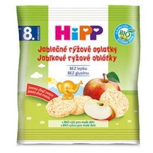 HiPP Jablečné rýžové oplatky BIO 30 g