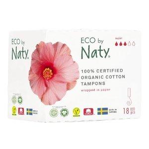 ECO BY NATY Tampóny Super 18 ks