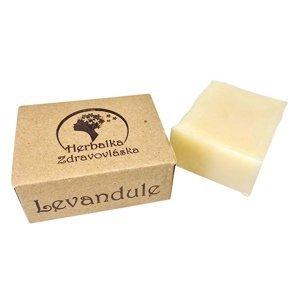 HERBALKA šamponové mýdlo zdravovláska levandule 105 g