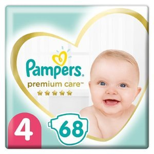 PAMPERS Premium Care vel.4 Dětské plenky 9-14kg 68 ks