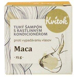 KVITOK Tuhý šampon Maca 25 g