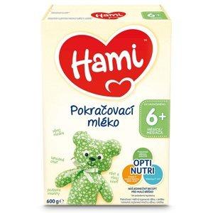 HAMI 6+ Pokračovací kojenecké mléko od 6.měsíce 600 g