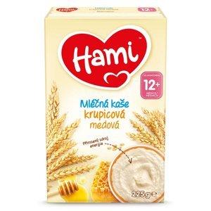 HAMI Mléčná kaše Krupicová medová od 12.měsíců 225 g