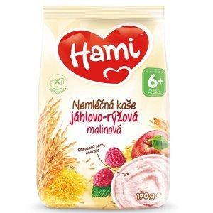 HAMI Nemléčná kaše Jáhlovo-rýžová Malinová od 6.měsíce 170 g