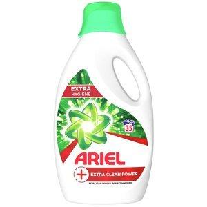 ARIEL Extra Clean Power Tekutý prací prostředek 1,295 l 35 Praní