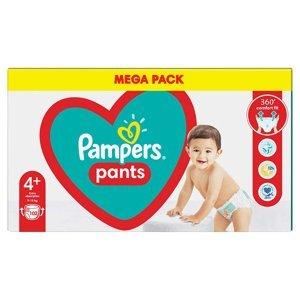 PAMPERS Pants vel.4+ Plenkové kalhotky 10-15kg 102 ks