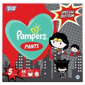 PAMPERS Pants vel.5 Plenkové kalhotky 12-17kg Warner Bros 66 ks