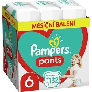 PAMPERS Pants vel.6 Plenkové kalhotky 15+kg 132 ks
